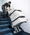 LE-1 Stair Climbers Handtruck - Climb stairs with a photocopier or other office equipment without straining your back.
