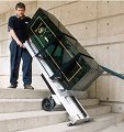 LE-1 Stair Climbers Handtruck - Moving A Safe Up Stairs